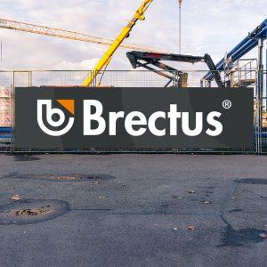 Brectus Byggepladskilt