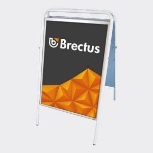 Brectus Gadeskilt Standard