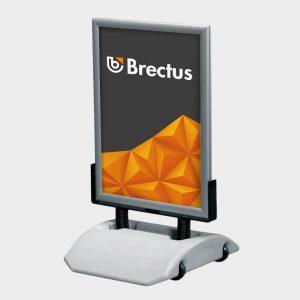 Brectus Gadeskilt Wind-Sign Alu Smart