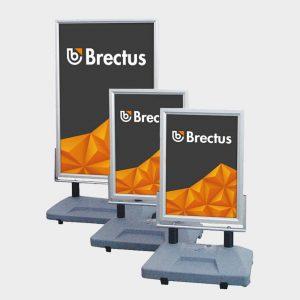 Brectus Gadeskilt Wind-Sign