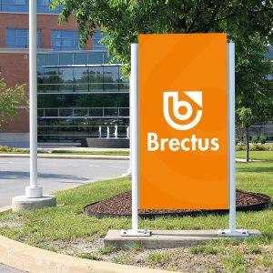 Brectus Skilt for udendørs brug