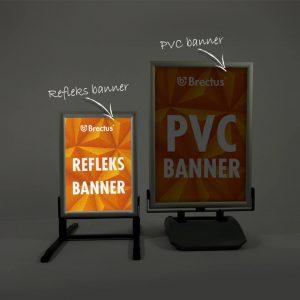 Reflex banner